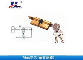 铝塑门窗锁芯70mm正芯